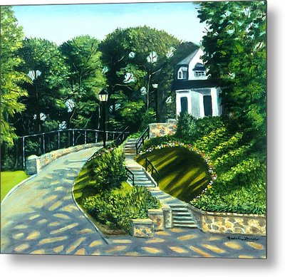Oakridge In Forest Park Metal Print