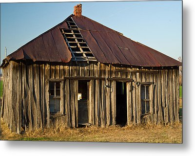 Oalold House Place Arkansas Metal Print by Douglas Barnett