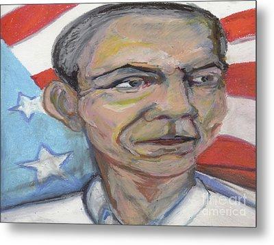 Obama 2012 Metal Print by Derrick Hayes