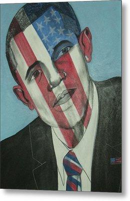Obama Metal Print by Stanley Clark