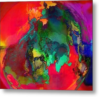 Obscurity Metal Print by Kelly McManus