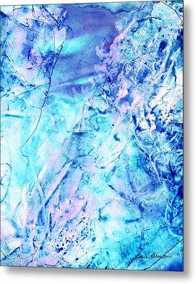 Ocean Bottom Metal Print by Rosie Brown