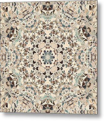 Ocean Breeze 51c02 - Mandala Metal Print