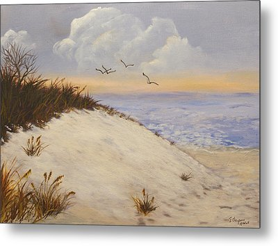Ocean Breeze Metal Print by J Cheyenne Howell