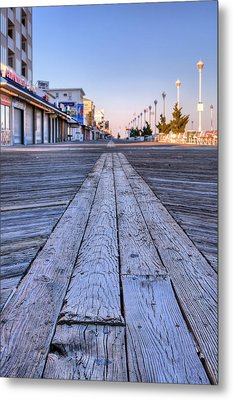 Ocean City Metal Print by JC Findley