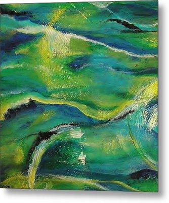 Ocean Currents 1 Metal Print by Chris Keenan