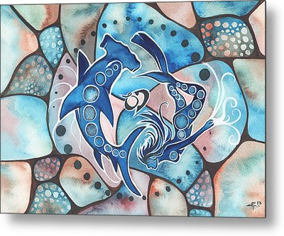Ocean Defender Metal Print by Tamara Phillips