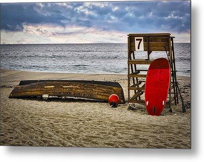 Ocean Grove Beach New Jersey Metal Print