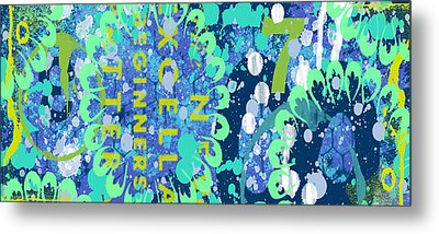 Metal Print featuring the digital art Ocean by Lisa Noneman
