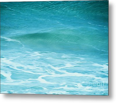Metal Print featuring the photograph Ocean Lullaby by Roselynne Broussard