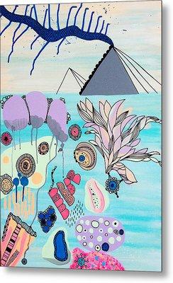 Ocean Parade Metal Print by Susan Claire