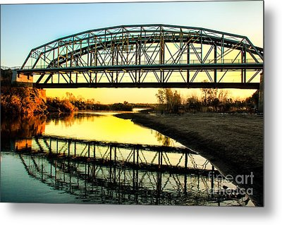 Ocean-to- Ocean Bridge Metal Print by Robert Bales