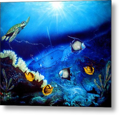 Ocean Treasure  Metal Print