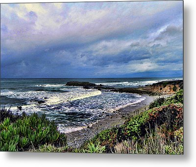 Metal Print featuring the photograph Ocean View by Kathy Churchman