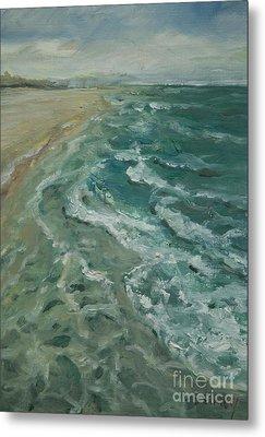 Ocean View Metal Print by Sally Simon