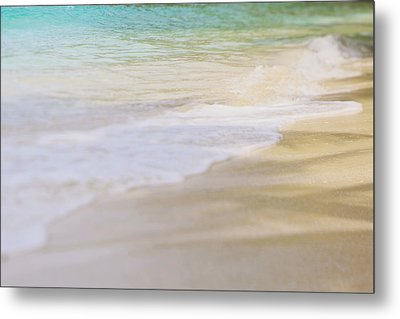 Ocean Waves Metal Print by Heather Green