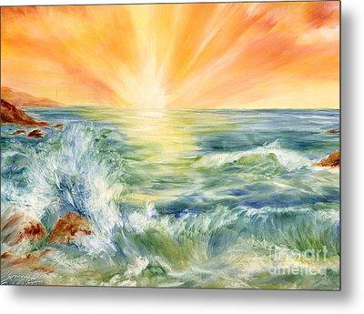 Ocean Waves IIi Metal Print