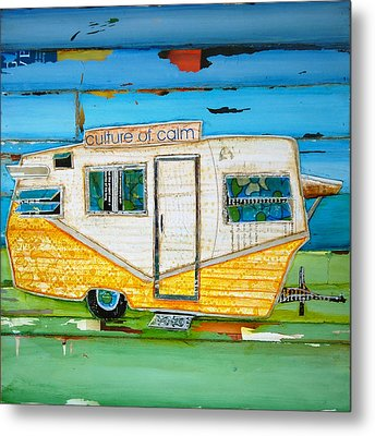 Oceanfront Property Metal Print by Danny Phillips