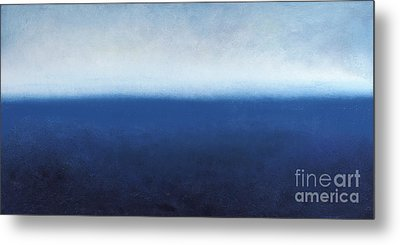 Metal Print featuring the painting Oceanic Meditation by Tiffany Davis-Rustam