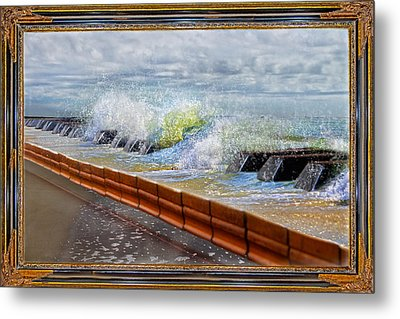 Oceanic Notes Metal Print by Betsy Knapp