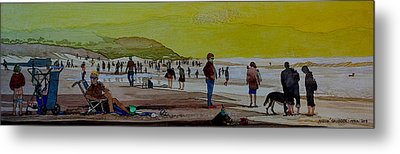 Oceans Beach San Francisco Metal Print