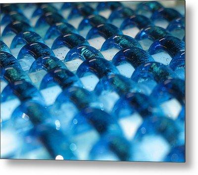 Oceans Woven Glass Metal Print by Steven Schramek