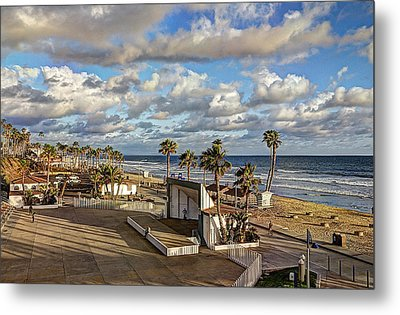 Oceanside Amphitheater Metal Print