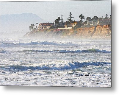 Metal Print featuring the photograph Oceanside California by Tom Janca