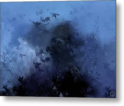 October Blues Metal Print by Gun Legler