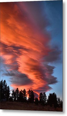 October Dawn Metal Print
