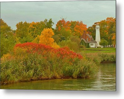 October Light Metal Print