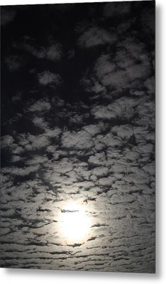 October Moon Metal Print by Joel Loftus