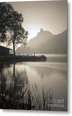 Metal Print featuring the photograph October Morning by Kari Yearous