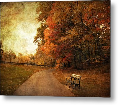 October Tones Metal Print by Jessica Jenney