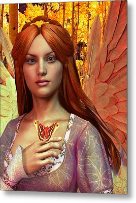 October Vision Metal Print by Suzanne Silvir