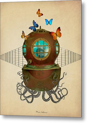 Octopus Metal Print by Mark Ashkenazi