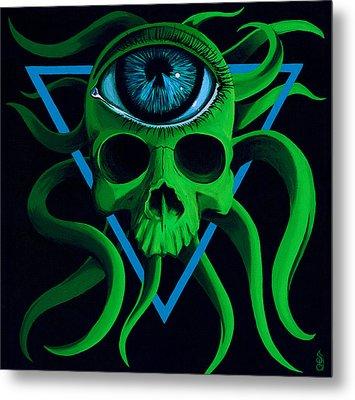 Ocupus Metal Print by Steve Hartwell