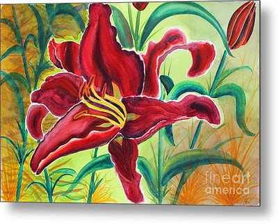 Oddly Twisted Metal Print by Shannan Peters