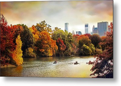 Ode To Central Park Metal Print by Jessica Jenney