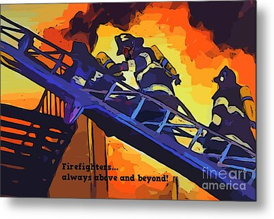 Ode To Our Heros Metal Print by John Malone