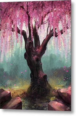 Ode To Spring Metal Print by Steve Goad