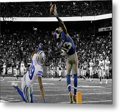 Odell Beckham Greatest Catch Ever Metal Print