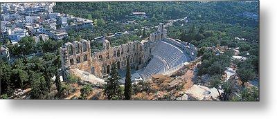 Odeon Tu Herodu Attku The Acropolis Metal Print