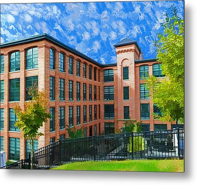 Metal Print featuring the photograph Oella Mill by Dana Sohr