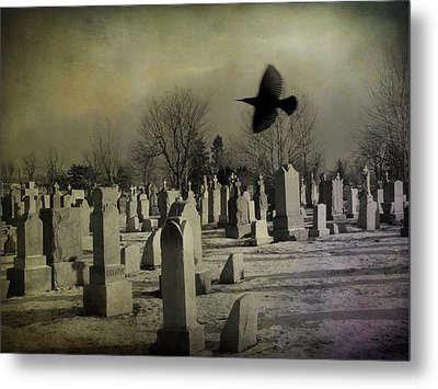 Of A Gothic Nature Metal Print by Gothicrow Images