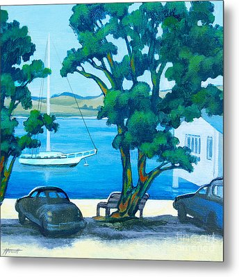 Of Boats And Summer Metal Print