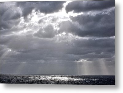 of Clouds and Sun. Metal Print by Allen Carroll