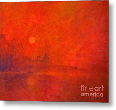 Off In The Distance Metal Print by Alison Caltrider