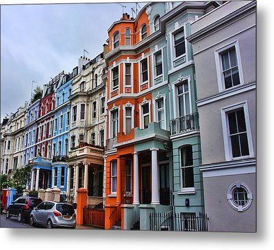 Off Portobello Road Metal Print by Nicky Jameson