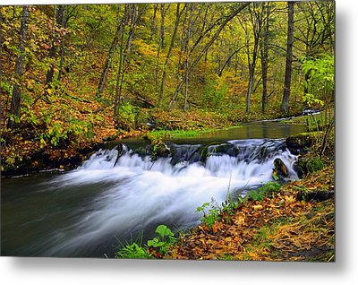 Off The Beaten Path Metal Print by Bonfire Photography